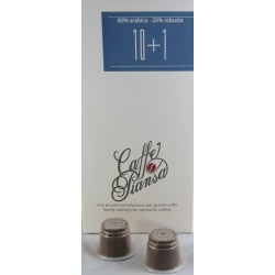 Nespresso © capsules Piansa Miscela 10+1 48 stuks