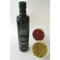 Bruschetta- en Parmezaanse mix met 500 ml Florido extra vergine olijfolie